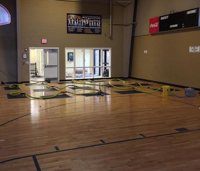 Gym Floor Saved