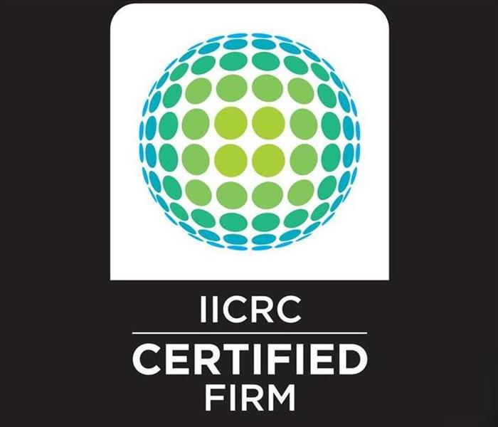 Why SERVPRO IICRC Certified Firm
