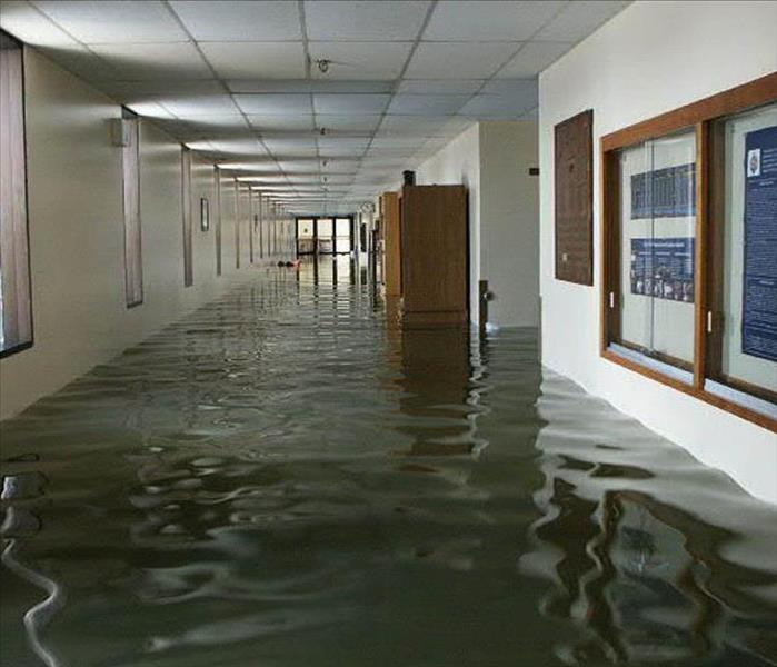 Commercial SERVPRO Commercial Water Damage Assessment